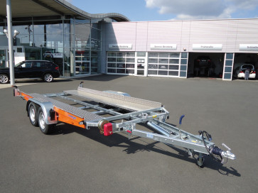 kippbarer Autotransporter, mit sEilwinde, Tiefladerausführung, AK 3000 B ()