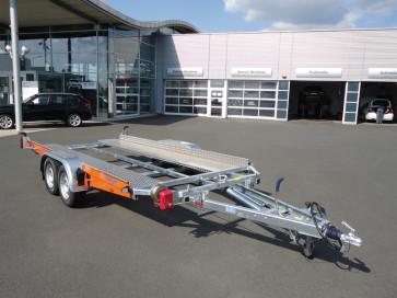 kippbarer Autotransporter, mit Seilwinde, Tiefladerausführung, AK 3500 B ()