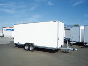 PKW-Kofferanhänger, Tiefladerausführung, AZ 2745/200 - Serie 40 ()