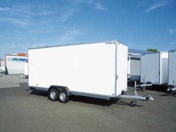 PKW-Kofferanhänger, Tiefladerausführung, AZ 3025/126 - Serie 70 ()