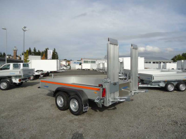Alu-Minibagger-Anhänger, Tiefladerausführung, MB 3025/151 ()