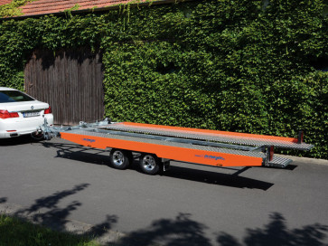 PKW-Autotransporter, mit Seilwinde, KHL 3000 ()