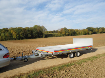 Multitransporter, geschlossener Boden, Hochlader, MKHL 3000 ()