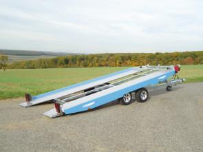 PKW-Autotransporter, mit Seilwinde, KHL 3000 Blue Dream ()