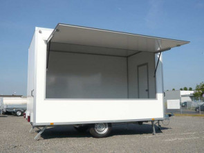 PKW-Verkaufsanhänger, VKE 1340/216 - leer ()