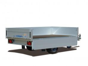 Hochlader, mit Alu Bordwänden Anhänger HLN 7523/141 ()