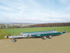 PKW-Autotransporter, mit Seilwinde, KHL 3000 Racing Green ()