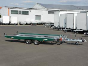 PKW-Autotransporter, mit Seilwinde, KHL 2701 Racing Green ()