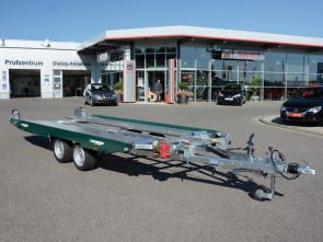 PKW-Autotransporter, mit Seilwinde, KHL 3500 Racing Green ()