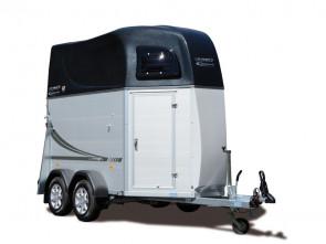 Oklahoma Alu - Standard, Servicetüre, Vorder- und Seitenansicht