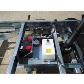 Elektropumpe mit Handpumpe und Batterie