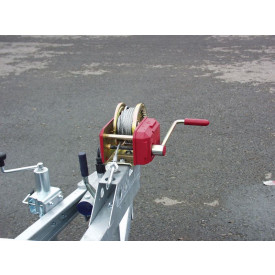 1-Gang-Winde (900 kg, 12-m-Seil)