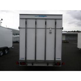 Heckrampe statt Tür (mit Hebedämpfern, Traglast: ca. 700 kg)