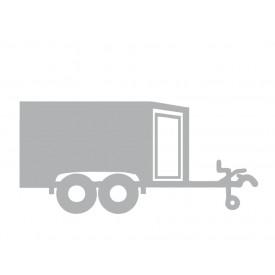 Spitz (Holz) in grau (innen: weiß)