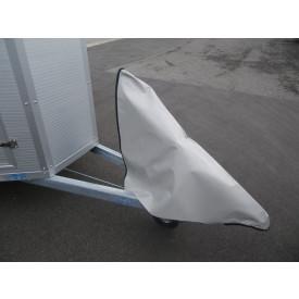 Wetterschutzhaube für Auflaufeinrichtung