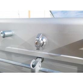 Zylinderschloß für Aluminiumdeckel