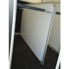 Holz-Trennwand anstelle PVC-Trennwand