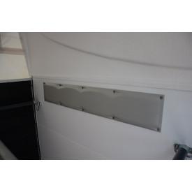 2 Seitenpolster (PVC, rechts/links)